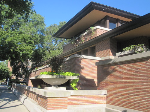 toc toc toc chicago visite la robie house de frank lloyd wright. Black Bedroom Furniture Sets. Home Design Ideas
