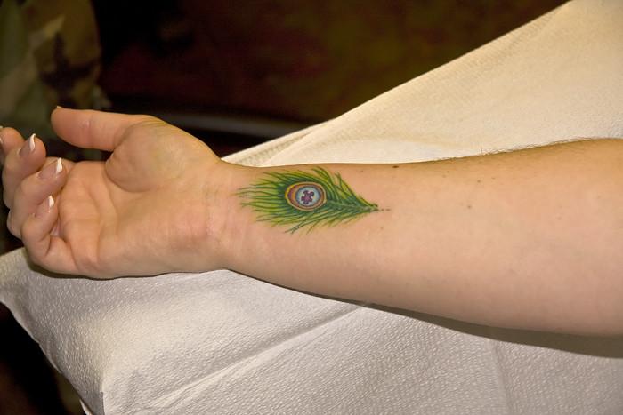 9210 Jennifer Wrist Tattoo Done After Dads Tattoo John Atwood Flickr