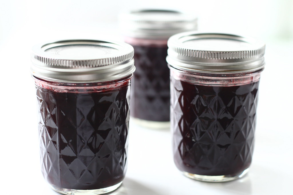 Homemade blackberry jam!
