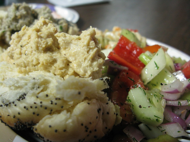 great israeli-style vegan food!