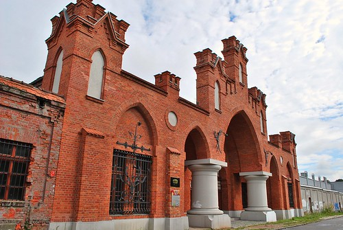 Beczki Grohmana w Łodzi