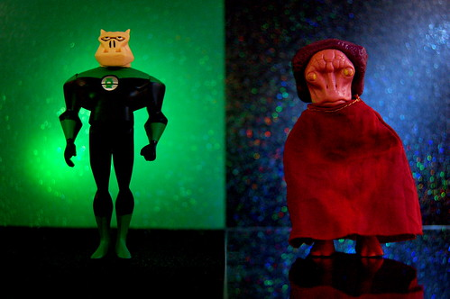 Green Lantern Kilowog vs. Imperious Leader (250/365)