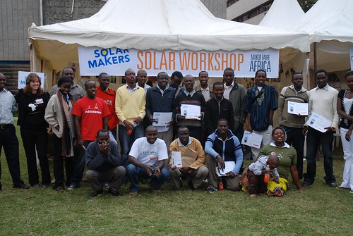 Solar Workshop Graduation