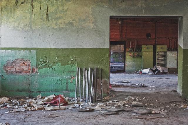 Abandoned Textile Factory, Ludza