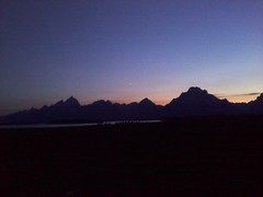 After sunset via cameraphone