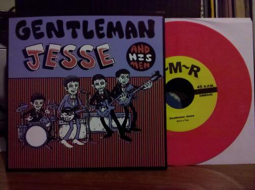 "Gentleman Jesse - She's A Trap 7"" - Pink Vinyl /100"