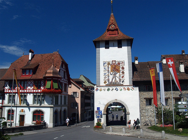 Sempach town gate