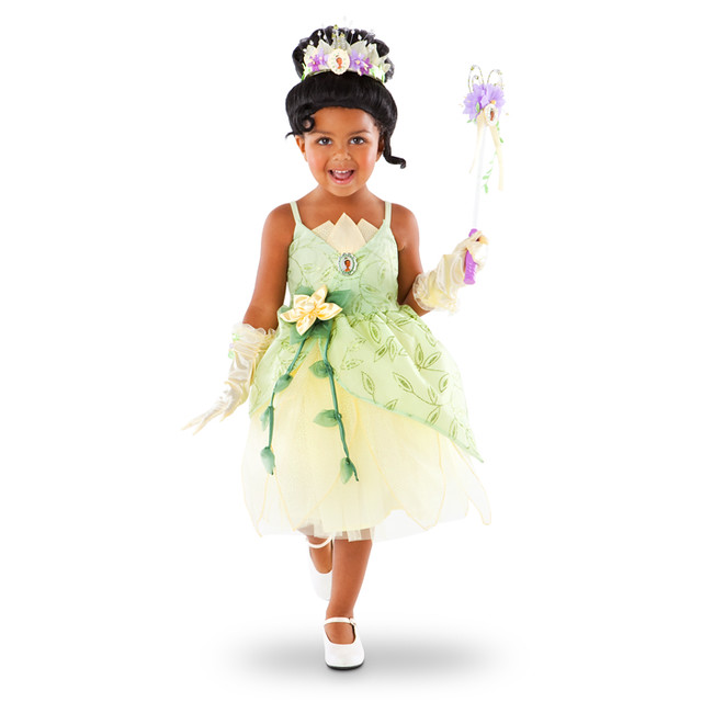 Princess Tiana Dress: Disney Parks Authentic Tiana Costume (1)