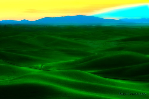 How Green Is Your Valley - Washington State Palouse