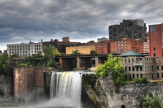 High Falls at Rochester, NY