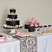 Girly Woodland Dessert Table