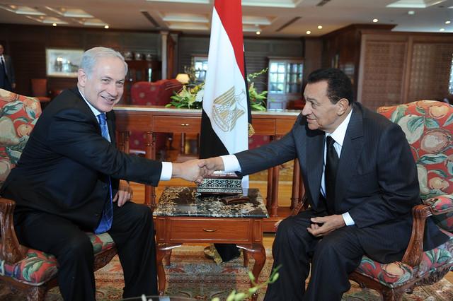 Meeting with President Mubarak Sharm el Sheikh Summit 1