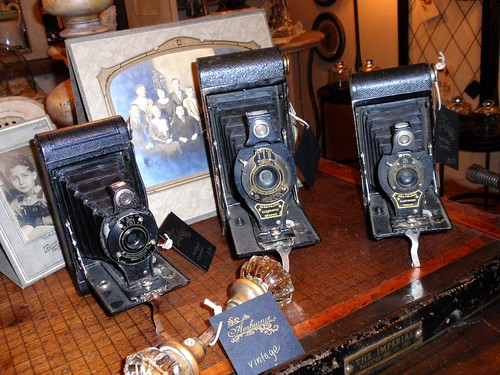 Antique cameras in Ambiance
