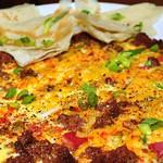 Mmm... chorizo omelet