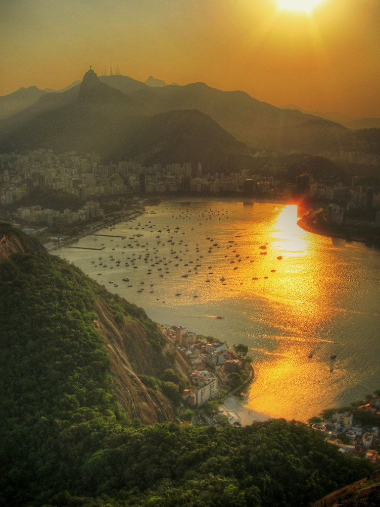 Setting Sun Over Botafogo