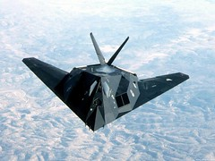 aviation, military aircraft, airplane, wing, vehicle, lockheed f-117 nighthawk, jet aircraft, bomber, air force,