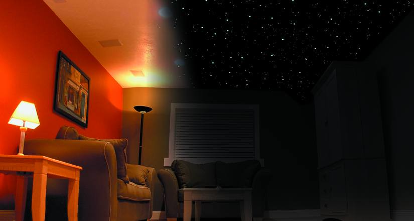 Star Ceilings    Painted or Fiber optics    AVS Forum   Home Theater  Discussions And Reviews. Star Ceilings    Painted or Fiber optics    AVS Forum   Home