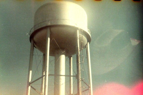 Skyjack Water Tower-KodaK Brownie Six-20