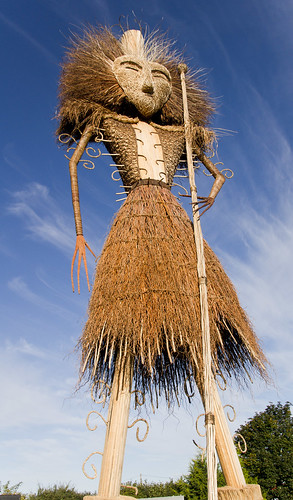40 foot tall wicker man.