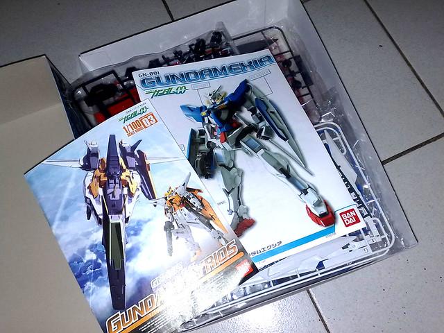 1/60 Gundam Exia Assembly