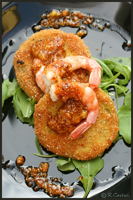 Fried green tomatoes with shrimp remoulade | Flickr - Photo Sharing!
