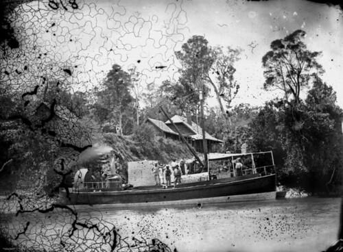 photographer queensland statelibraryofqueensland steamboats slq williamboag ferrrywharves