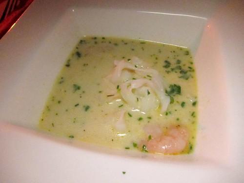 Gourmet pigs laksa santa monica night breeze chef amy 39 s for La fenetre chardonnay