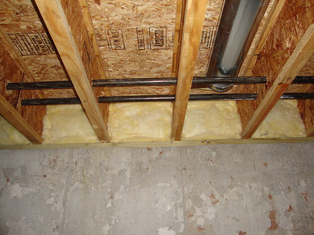 Fiberglass batt insulation 2 flickr photo sharing for High density fiberglass batt insulation