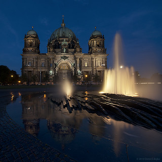 Berliner Dom With Reflection