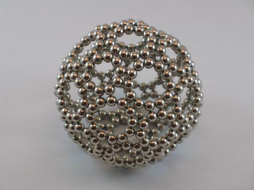 Buckyballs magnet sculpture