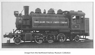 Snoqualmie Falls Lumber Company Locomotive #6, Philadelphia, March 1923