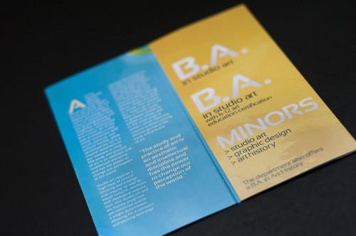 Studio Art Brochure
