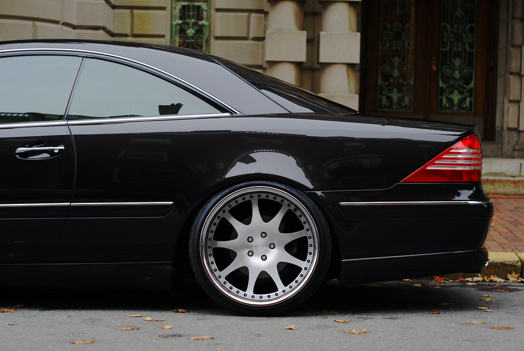 stanced mercedes benz cl500 w215. Black Bedroom Furniture Sets. Home Design Ideas