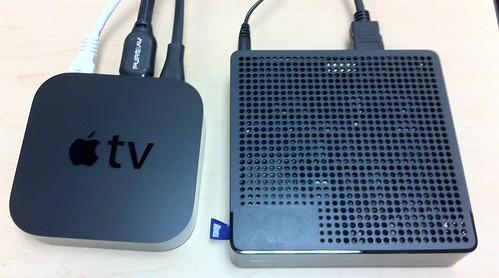 Apple TV 2 vs. new Roku