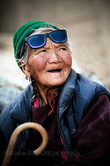 India, Ladakh. SUNGLASSES.