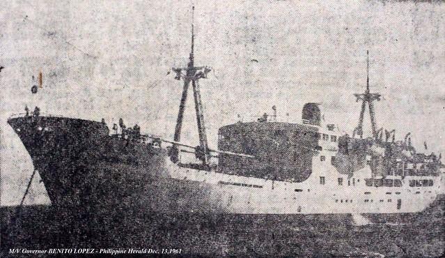 1961 1213 MV Gov Benito Lopez
