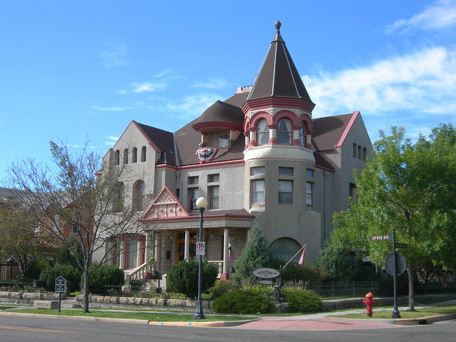Cheyenne historic home flickr photo sharing for Home builders cheyenne wy