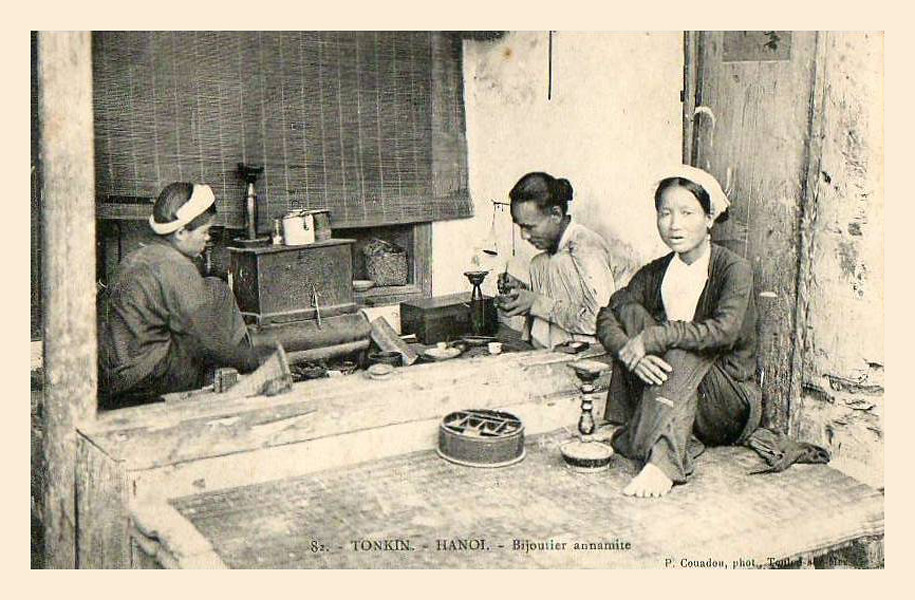 HANOI - BIJOUTIER ANNAMITE