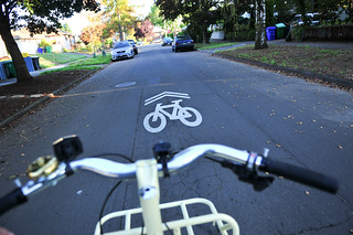 Sharrows on N. Concord-4