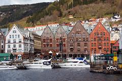 Bryggen Stone Buildings