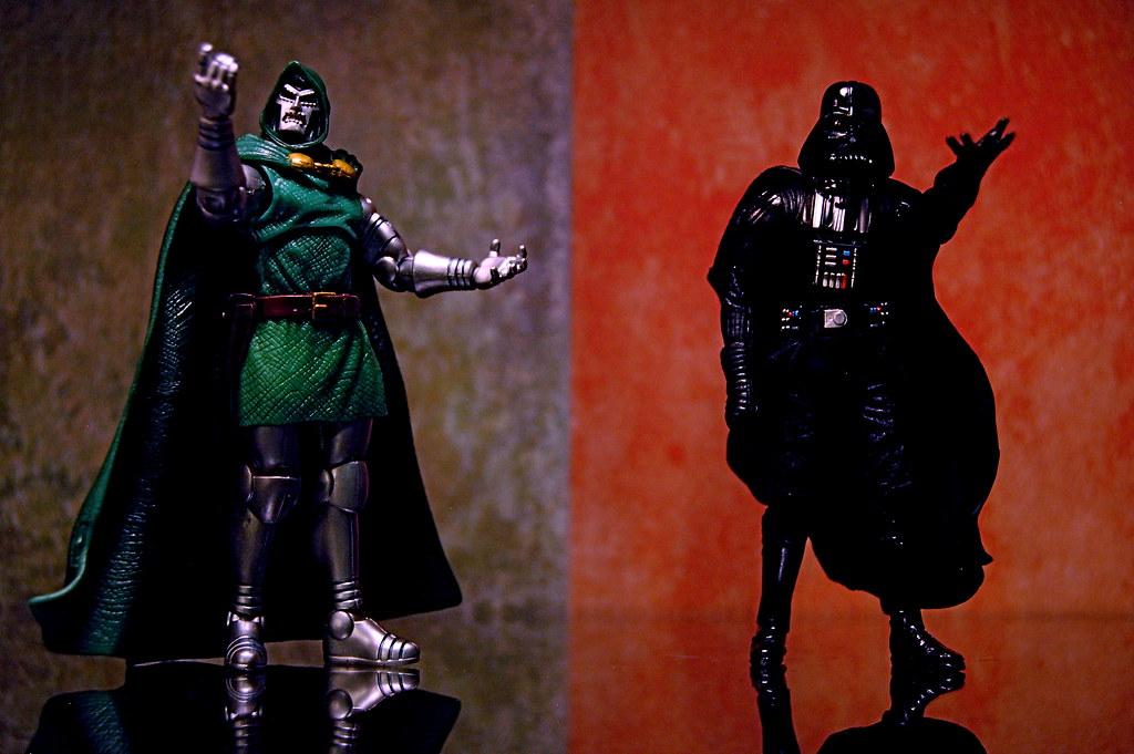 Doctor Doom vs. Darth Vader (275/365)
