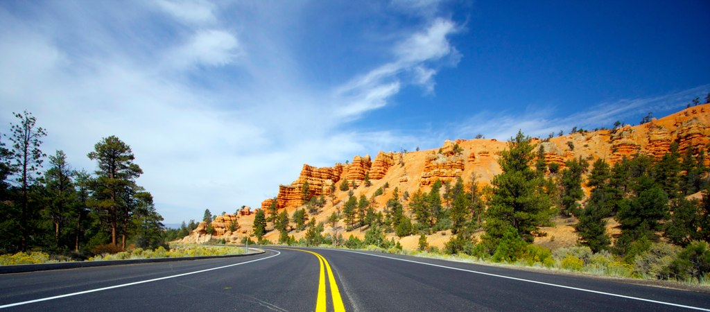 Drive through Dixie National Forest
