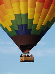 Riding in a Balloon - Albuquerque Balloon Fest 2010 by scb.mypics
