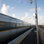 Balbriggan - High Speed Train Passing Through