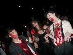 event, halloween, holiday, zombie, costume, performance art,