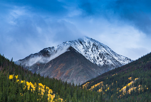 camera blue autumn mountain green fall leaves yellow canon eos leaf colorado snowy peak valley rockymountains aspen dslr digitalrebel photoart digitalslr firtree artisticphotography snowcaps canon2470mmf28l jimboud t2i jamesboud eos550d kissx4