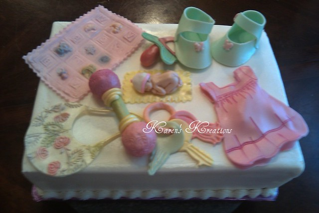 General Baby shower cake new orleans louisiana