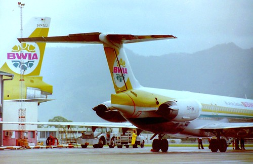 BWIA at Piarco, Trinidad 1997