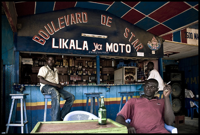 Congo Bar, in Africa