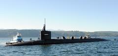 In this file photo, Ohio-class ballistic submarine USS Alabama (SSBN 731) returns to Naval Base Kitsap from a deterrent patrol Sept. 29, 2010. (U.S. Navy photo by Ray Narimatsu)